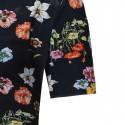Camisa Casual Floral Masculina Estilo Verão Primavera Jovens