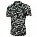 Men's Fashion Shirt Military Fashion Stamped Casual Fashion Station