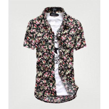 Florida Shirt Stylish Casual Men's Summer Beach Shirt