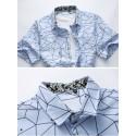 Stylish Modern Stylish Men's Short Sleeves Shirt Abristrata