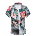 Summer Fashion Floral Shirt Summer Beach Avaiano Style