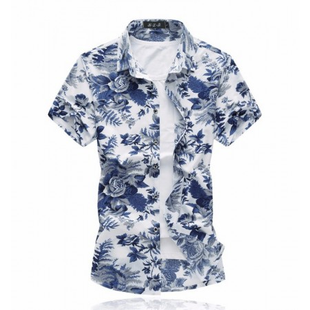 Men's Floral Shirt New Stylish Fashion Cute Stylish Shirt