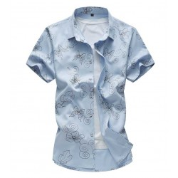 Cute Fashionable Men's Casual Shirt