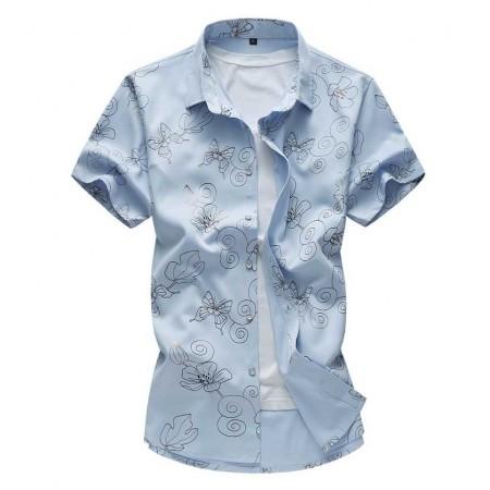 Cute Fashionable Men's Casual Shirt