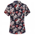 Men's Casual Shirt Fashion Beach Summer Print Florida