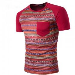 Men's Casual Shirt Printed Drawing Abstract Fashion Summer