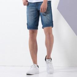 Short Jeans Masculino Skinny Calitta Moda Verão Slim Fit