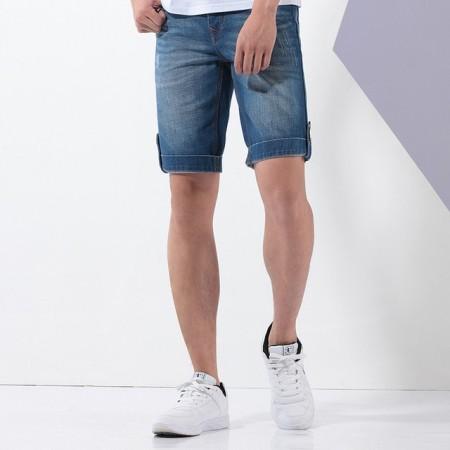 Men's Short Jeans Skinny Calitta Summer Slim Fit Fashion