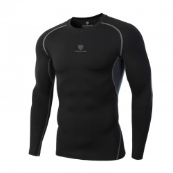 Men's Long Sleeve Thermal Compression Thermal Sports Shirt
