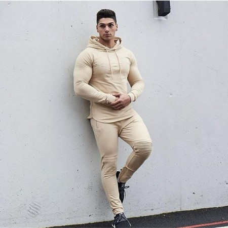 Men's Casual Sweatpants Sport Comfortable Skinny Set