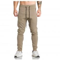 Calça de Moletom Masculino Slim Fit Casual de Treino Moda Urbana Jovem