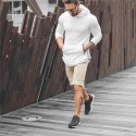 Men's Fashion Casual Sport Hooded Training Hooded Sweatshirt