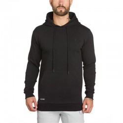 Hooded Men's Casual Adjustable Sport Hooded Thick Mesh