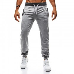 Men's Straight Trousers Sport Casual Training Running