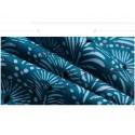 Men's Short Bermuda Print Blue And White Casual Beachwear