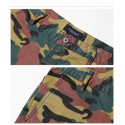 Men's Camouflage Camouflage Army Over The Ziper Casual Kne