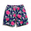 Men's Swimwear Fashion Beach Floral Print Holiday