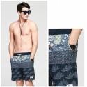 Men's Bermuda Striped Casual Fashion Calitta Summer