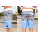 Men's Beach Short Fashion Striped Play Cute Neutral