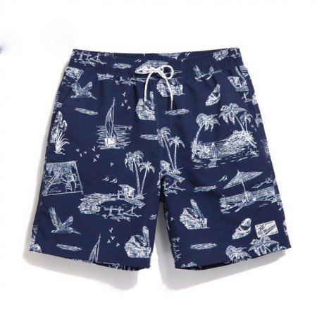 Bermuda Men's Beachwear Summer Simple Calitta Print