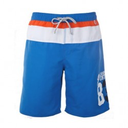 Men's Striped Sport Swimwear Beachwear