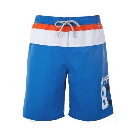 Men's Striped Sport Swimwear Beachwear