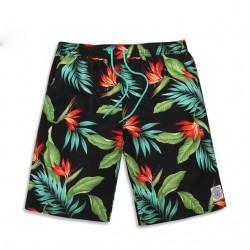 Bermuda Estampada Casual Floral Moda Verão Tropical Masculina