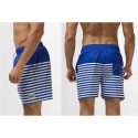 Men's Striped Short Fashion Beach Sport Summer