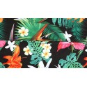 Bermuda Chronic Male Floral Pattern Tropical Forest Brazil
