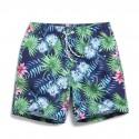 Men's Bermuda Summer Trends Floral Pattern Seabed