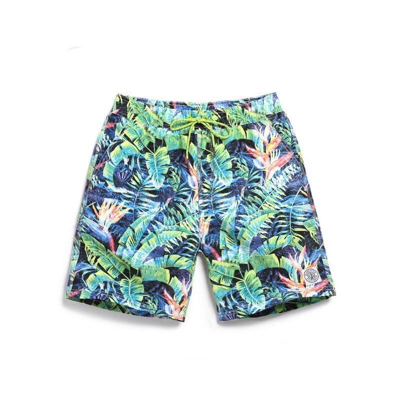 a9fd08172f4b Bermuda Florida Masculina Casual Moda Praia Verão Estilo Tropical