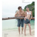 Male Bathing Suit Animal Print Detailed Shark Fashion Beach