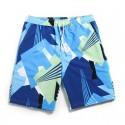 Men's Bermuda Print Comfortable Casual Beach Adjustable Short