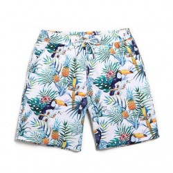 Men's Bermuda Floral Patterned Fit Casual Beach