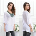 T shirt Elegant Casual Summer Style Working Ladies
