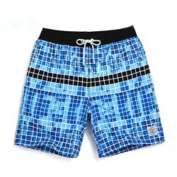 710/5000 Men's Short Beach Tactile Comfortable Casual Short Print