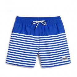 Men's Striped Short Fashion Beach Sport Summer