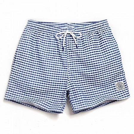 Men's Casual Checkered Bermuda Casual Casual Basic Cute