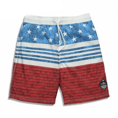 Bermuda Masculina de Treino Bandeira Americana Listrada 8c9b51e99c9ea
