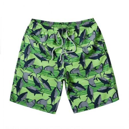 Men's Comfortably Fit Short Summer Beach Adjustable