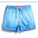 Short Geometric Male Comfortable Beach Summer Casual