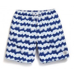 Short Geometric Printing Men's Casual Adjustable Beach Summer