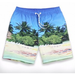 Short Men's Casual Short Beach Comfortable Summer Adjustable
