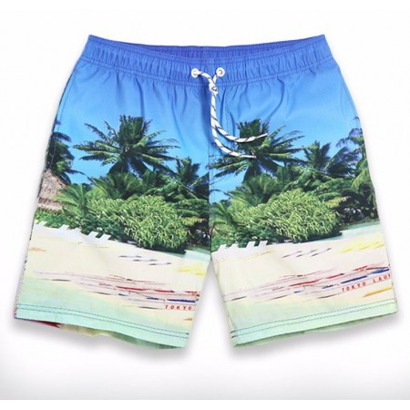 Short Men's Casual Short Beach Comfortable Summer Adjustable
