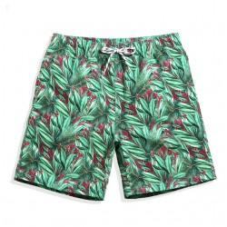 Short Masculino Estampado Solto Confortavel Casual Praia verão