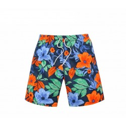 Floral Print Male Comfortably Casual Beach Summer