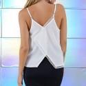 Blusa Feminina Branca Moderna Básica