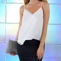 Blouse Women White Modern Basic