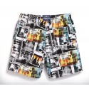 Men's Bermuda Print Casual Comfortable Summer Beach
