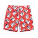 Men's Short Print Comfortable Adjustable Medium Short Casual